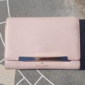 f1681b57d9de KATE SPADE NEW YORK RED   PINK HEARTS WALLET NWT
